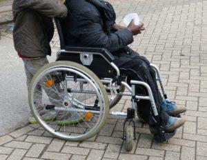 niepełnosprawność, protest, centrum neurorehabilitacji, Szczecin